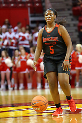 07 October 2016: Bechelle Beachum.  Illinois State University Women's Redbird Basketball team during Hoopfest at Redbird Arena in Normal Illinois.