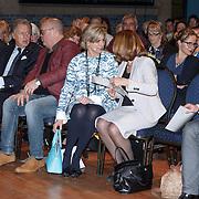 NLD/Amsterdam/20160121 - Uitreiking Taalhelden prijzen 2016 door Prinses Laurentien, Prinses Laurentien, Ed Nijpels, Paul de Leeuw, prinses Laurentien, Marja Bijsterveldt