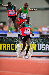 04.06.2011, Eugene, USA, Prefontaine Classic Track Meet, im Bild Ezekiel Kemboi (KEN) finishes first in the men's 3000m Steeplechase at the Prefontaine Classic Track and Field meet at Hayward Field in Eugene, Oregon. June 4, 2011..