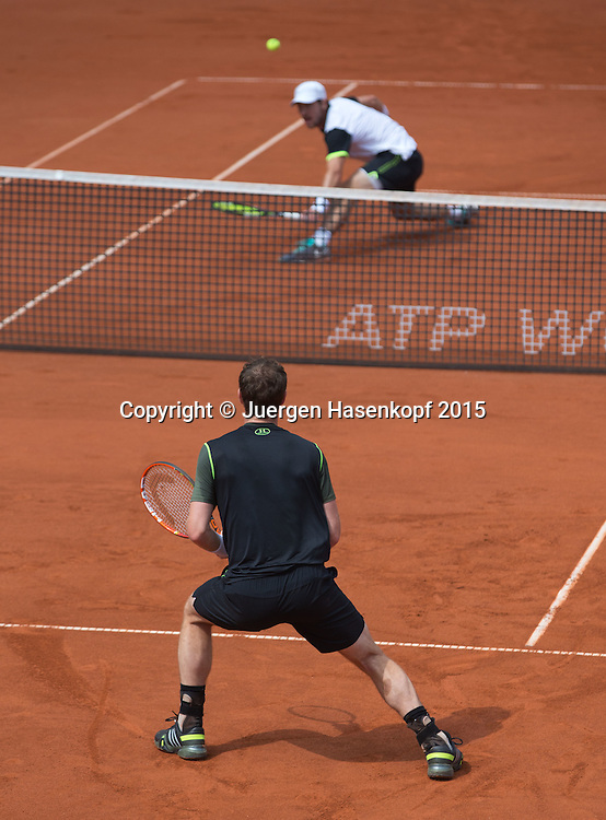 Andy Murray (GBR)<br /> <br /> Tennis - BMW Open - ATP -   - Muenchen - Bayern - Germany  - 30 April 2015. <br /> &copy; Juergen Hasenkopf