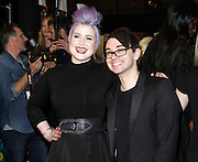 Kelly Osbourne and Christian Siriano pose backstage at Christian Siriano during the Mercedes-Benz Fall/Winter 2015 shows at Artbeam in New York City, New York on February 14, 2015.