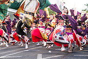 Competitors at the annual Nagoya Dance Festival (Domatsuri)
