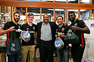 D.C. United visits Bread for the City