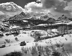 Winter Storm, DallasDivide, Colorado