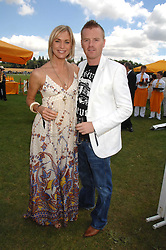 JENNI FALCONER and JAMES MIDGLEY at the final of the Veuve Clicquot Gold Cup 2007 at Cowdray Park, West Sussex on 22nd July 2007.<br />