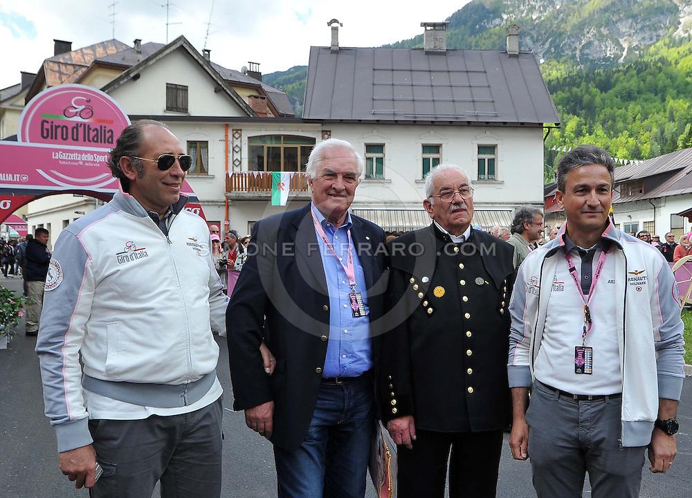 15 maggio 2013.Ciclismo - Giro d'Italia 2013 - 11° Tappa. .TARVISIO (Cave del Predil) - VAJONT..© foto di Simone Ferraro
