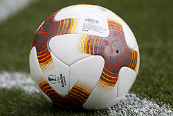 September 14, 2017 - Villarreal, Spain - Official ball of Europa League  during the UEFA Europa League Group A football match between Villarreal CF vs FC Astana  at La Ceramica stadium in Villarreal  on September 14, 2017. (Credit Image: © Jose Miguel Fernandez/NurPhoto via ZUMA Press)