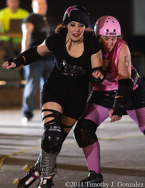 Cherry City Derby Girls Presents: Love Bites, an Anti-Valentines Day Bash, in the Pavilion at the Oregon State Fairgrounds, on Friday, Feb. 11, 2011.