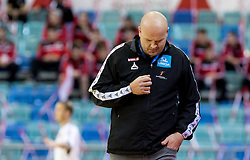 02.11.2016, Arena Nova, Wiener Neustadt, AUT, EHF, Handball EM Qualifikation, Österreich vs Finnland, Gruppe 3, im Bild Trainer Patrikur Johannesson (AUT)// during the EHF Handball European Championship 2018, Group 3, Qualifier Match between Austria and Finland at the Arena Nova, Wiener Neustadt, Austria on 2016/11/02. EXPA Pictures © 2016, PhotoCredit: EXPA/ Sebastian Pucher