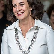 NLD/Amsterdam/20181003 - Koning opent tentoonstelling 1001 vrouwen in de 20ste eeuw, Femke Halsema
