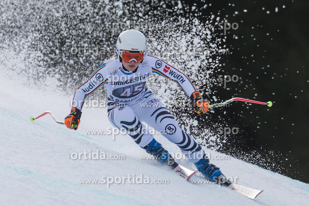 06.02.2016, Kandahar, Garmisch Partenkirchen, GER, FIS Weltcup Ski Alpin, Abfahrt, Damen, im Bild Patrizia Dorsch (GER) // Patrizia Dorsch of Germany competes during the ladies Downhill of Garmisch FIS Ski Alpine World Cup at the Kandahar course in Garmisch Partenkirchen, Germany on 2016/02/06. EXPA Pictures © 2016, PhotoCredit: EXPA/ Johann Groder