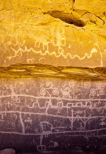 Petroglyphs, Canyons of the Ancients National Monument, Colorado