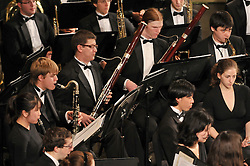Image from the Yale Concert Band performing the Parents Weekend Concert at Woolsey Hall, Yale University New Haven CT, on 25 October 2008