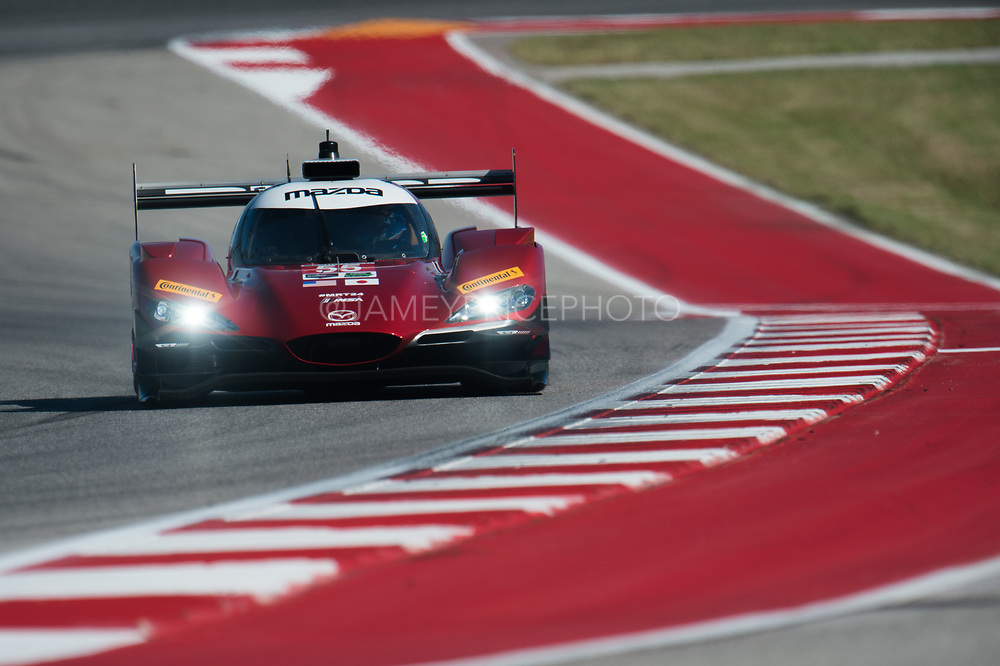 May 4-6, 2017: IMSA Sportscar Showdown at Circuit of the Americas. 55 Mazda Motorsports, DPi, Tristan Nunez, Jonathan Bomarito