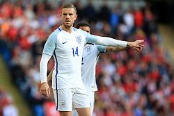England's Jordan Henderson points - Mandatory byline: Matt McNulty/JMP - 07966386802 - 22/05/2016 - FOOTBALL - Etihad Stadium -Manchester,England - England v Turkey - International Friendly