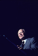 President Gerald Ford speaking in Washington DC in  July 1975<br /> Photo by Dennis Brack