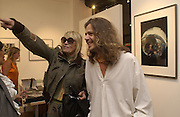 Anita Pallenberg and Sacha Stone. the Decca Years. Iconic photographs of the Rolling Stones, Atlas Gallery. Dorset St. 4 September 2002. © Copyright Photograph by Dafydd Jones 66 Stockwell Park Rd. London SW9 0DA Tel 020 7733 0108 www.dafjones.com
