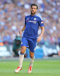 Cesc Fabregas of Chelsea - Mandatory byline: Paul Terry/JMP - 07966386802 - 02/08/2015 - Football - Wembley Stadium -London,England - Arsenal v Chelsea - FA Community Shield