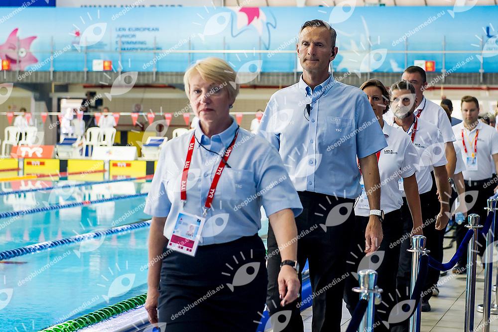 TSC LEN Members and Officials LEN<br /> LEN 44th European Junior Swimming Championships<br /> Netanya, Israel <br /> Day03 30-06-2017<br /> Photo Andrea Masini/Deepbluemedia/Insidefoto