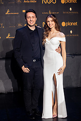 Alex Volasko and Sasa Lesnjek during SPINS XI Nogometna Gala 2019 event when presented best football players of Prva liga Telekom Slovenije in season 2018/19, on May 19, 2019 in Slovene National Theatre Opera and Ballet Ljubljana, Slovenia. Photo by Vid Ponikvar / Sportida