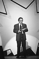Trevor Horn, The BRIT Awards 1992 <br /> Wednesday 12 Feb 1992<br /> Hammersmith Odeon, London, England<br /> Photo: John Marshall, JM Enternational