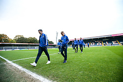 Bristol Rovers arrive at The Crown Oil Arena for the Sky Bet League One fixture with Rochdale - Mandatory by-line: Robbie Stephenson/JMP - 02/10/2018 - FOOTBALL - Crown Oil Arena - Rochdale, England - Rochdale v Bristol Rovers - Sky Bet League One