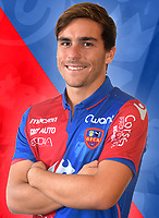 Julien Anziani during photoshooting of Gazelec Ajaccio for new season 2017/2018 on September 26, 2017 in Ajaccio<br /> Photo : Gfca / Icon Sport