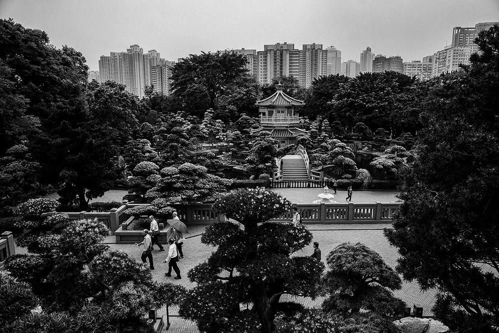 Hong Kong | 06.05.2017: Hong Kong <br /> <br /> hier: Nan Lian Garden<br />  <br /> Sascha Rheker<br /> 20170506<br /> <br /> [Inhaltsveraendernde Manipulation des Fotos nur nach ausdruecklicher Genehmigung des Fotografen. Vereinbarungen ueber Abtretung von Persoenlichkeitsrechten/Model Release der abgebildeten Person/Personen liegt/liegen nicht vor.]