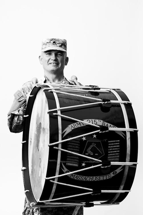Michael Moran<br /> Army<br /> E-6<br /> Musician/Bandsman<br /> 1982 - Present<br /> <br /> Veterans Portrait Project<br /> Springfield, MA