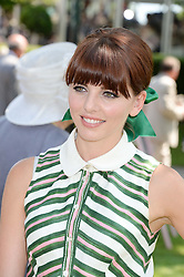 OPHELIA LOVIBOND at the 3rd day of the 2013 Glorious Goodwood racing festival - Ladies day at Goodwood Racecourse, West Sussex on 1st August 2013.