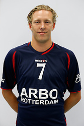 03-09-2013 VOLLEYBAL: ARBO ROTTERDAM FUSION 2013 - 2014: ROTTERDAM<br /> Sander Schouten<br /> &copy;2013-FotoHoogendoorn.nl / Pim Waslander
