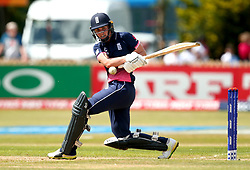 Natalie Sciver of England Women pulls the ball - Mandatory by-line: Robbie Stephenson/JMP - 12/07/2017 - CRICKET - The County Ground Derby - Derby, United Kingdom - England v New Zealand - ICC Women's World Cup match 21