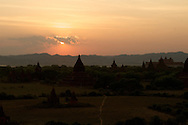 Sunset at Shwe-san-daw Paya, Bagan