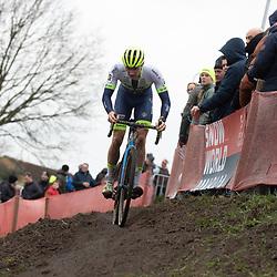 12-01-2020: Wielrennen: NK Veldrijden: Rucphen <br />Corne van Kessel