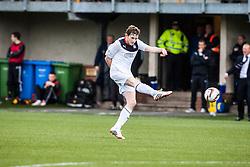 Falkirk's Blair Alston.<br /> Alloa Athletic 0 v 0 Falkirk, Scottish Championship 12/10/2013. played at Recreation Park, Alloa.<br /> &copy;Michael Schofield.