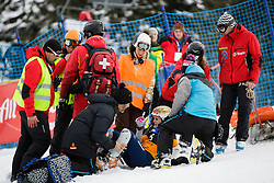 Julie Zogg (SUI) injured during Final Run of Women's Parallel Giant Slalom at FIS Snowboard World Cup Rogla 2016, on January 23, 2016 in Course Jasa, Rogla, Slovenia. Photo by Ziga Zupan / Sportida