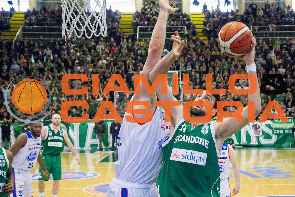 Avellino 06/03/2016 - Basket Lega A Campionato Italiano Pallacanestro 2015-16<br /> Sidigas Avellino - Acqua Vitasnella Cantu<br /> nella foto: Riccardo Cervi<br /> foto Ciamillo