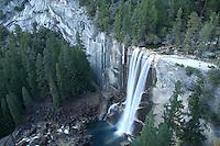 Scenic image of Vernal Falls, Yosemite National Park California.