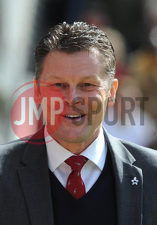 Bristol City manager, Steve Cotterill - Photo mandatory by-line: Dougie Allward/JMP - Mobile: 07966 386802 - 11/04/2015 - SPORT - Football - Preston - Deepdale - Preston North End v Bristol City - Sky Bet League One