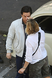 "EXCLUSIVE: Michelle Williams and Mark Wahlberg are set to star in the tale of the world's wealthiest man, J. Paul Getty (Kevin Spacey), who refuses to pay the ransom when his grandson is kidnapped, forcing the boy's mother (Williams) to team with an ex-CIA negotiator (Wahlberg) to try and save her son. Charlie Plummer will play the boy, J. Paul Getty III. Just after the news of the kidnapping, Wahlberg tries to protect Williams from the assault of paparazzi outside her home in Rome. Ex-CIA negotiator (Wahlberg) exit from the house of Paul Getty's mother (Williams), find on the roof of his car a write with a symbol of ""Brigate Rosse"" (Italian terrorist). 05 Jun 2017 Pictured: Mark Wahlberg. Photo credit: MEGA TheMegaAgency.com +1 888 505 6342"