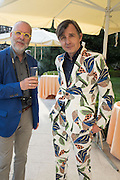 BERT DE LEENHEEN; ; JOHAN CRETEN, Glasstress opening. Accademia Bridge. Venice Biennale, Venice. 8 May 2015