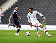 Milton Keynes Dons midfielder Diego Poyet during the Sky Bet Championship match between Milton Keynes Dons and Derby County at stadium:mk, Milton Keynes, England on 26 September 2015. Photo by David Charbit.