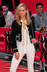 The Heat gala film screening.<br /> Kimberley Garner attends the screening of comedy about an FBI agent and Boston cop who team up, London, United Kingdom.<br /> Thursday, 13th June 2013<br /> Picture by Nils Jorgensen / i-Images