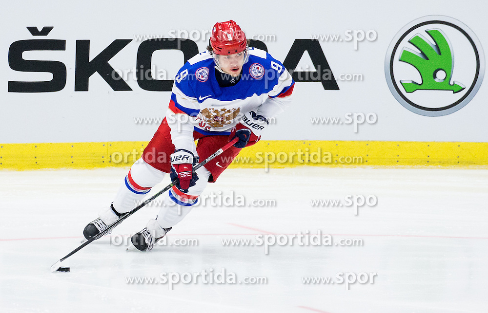 Artemi Panarin of Russia during Ice Hockey match between Russia and Norway at Day 1 in Group B of 2015 IIHF World Championship, on May 1, 2015 in CEZ Arena, Ostrava, Czech Republic. Photo by Vid Ponikvar / Sportida