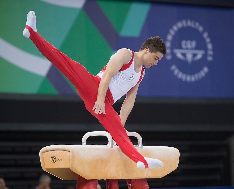 Glasgow, JULY 28, 2014: Lawn Bowls, Artistic Gymnastics (W)