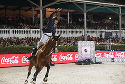 Clee Joe, (GBR), Utamaro D Ecaussines<br /> Final<br /> Furusiyya FEI Nations Cup Jumping Final - Barcelona 2015<br /> © Dirk Caremans<br /> 26/09/15