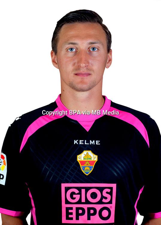 Spain - La Liga BBVA  2014-2015 / <br /> ( Elche C.F. ) - <br /> Przemysław Tyton