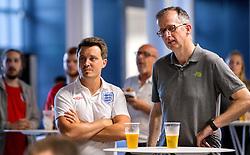 Fans gather in the fanzone in the South Stand concourse to watch England vs Slovakia- Mandatory by-line: Robbie Stephenson/JMP - 20/06/2016 - FOOTBALL - Ashton Gate - Bristol, United Kingdom  - England vs Slovakia - UEFA Euro 2016