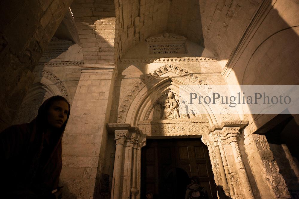 FOGGIA 17 Ottobre 2011.Visita a Foggia e provincia..Puglia Experience 2011.Apulia Film Commission.