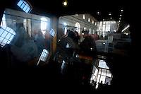 Taranto 11 ottobre 2011.Visita presso l'Arsenale Militare Marittimo ..Apulia Film Commission.III edizione del workshop di scrittura internazionale AAW PugliaExperience